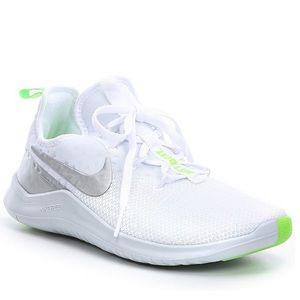 Nike Free TR 8 White - Metallic Silver